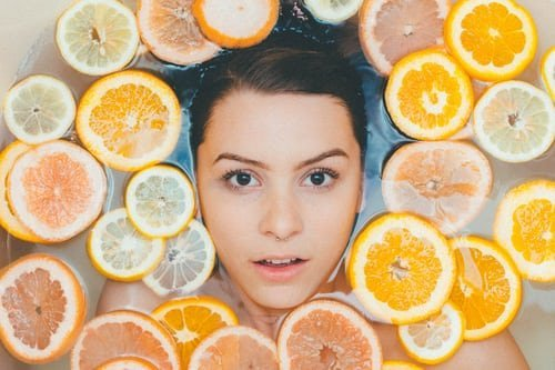 healthy face skin